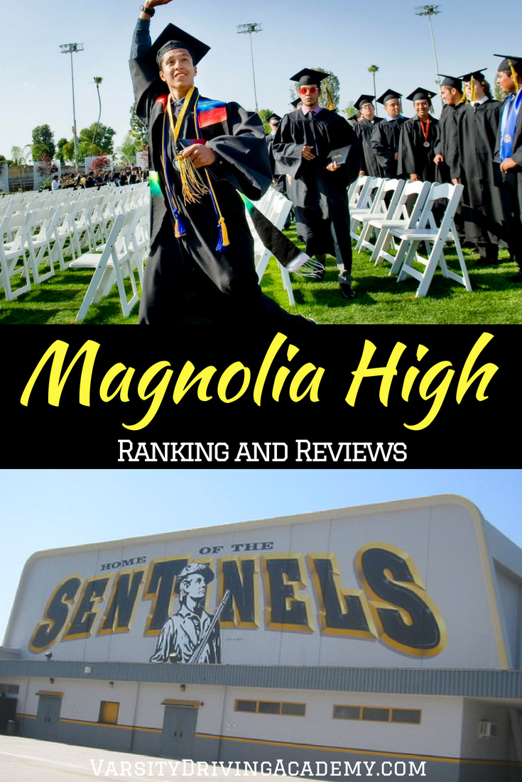 The Magnolia High School ranking will help you find out how well the education provided compares to other California high schools.