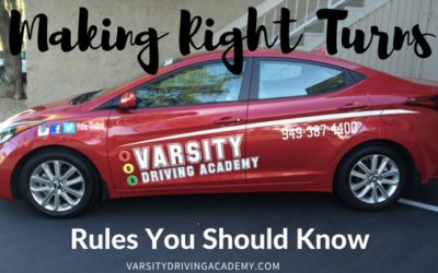 Rules For Making Right Turns
