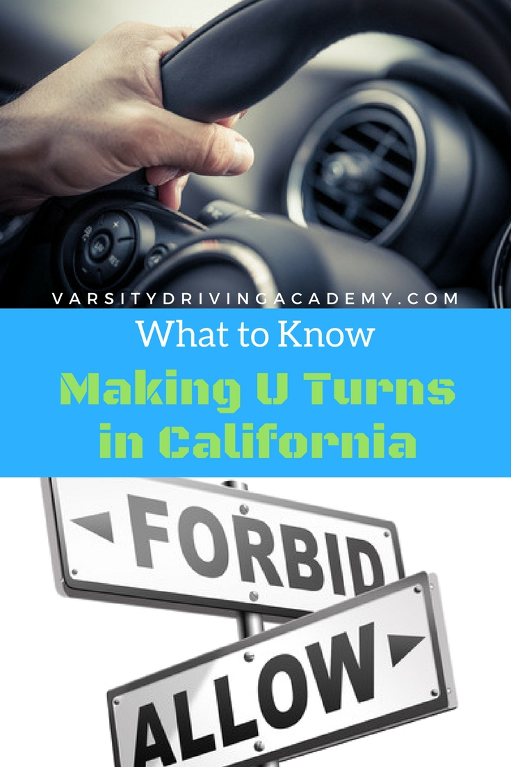 Learn how to make U turns properly and be prepared for any and every scenario you may be approaching while behind the wheel.