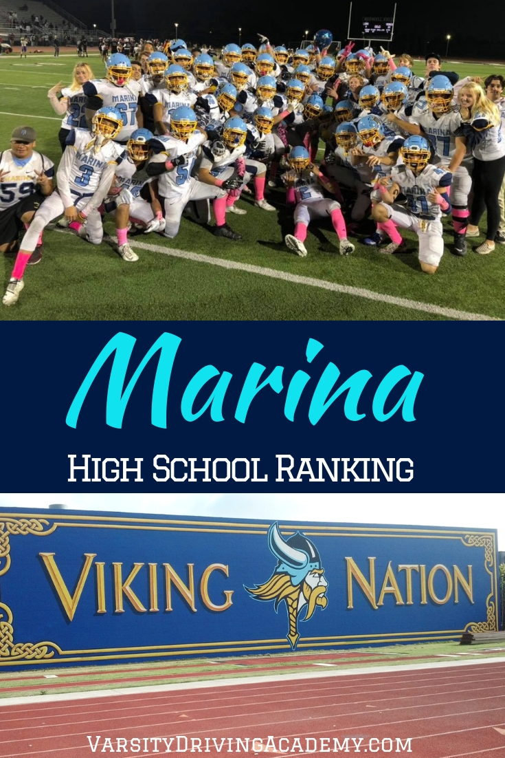 Learning about the Marina High School ranking can help you understand what to expect when attending and when graduating from Marina High School.