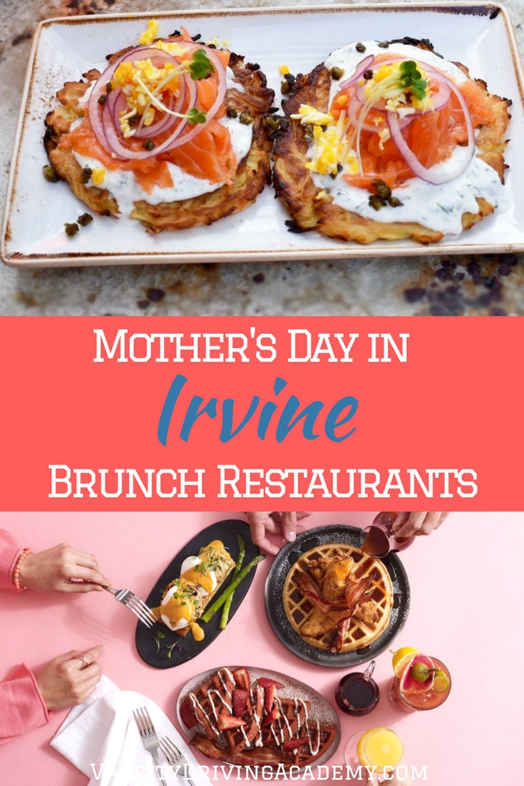 Take mom out for an amazing brunch and celebrate Mother's Day in Irvine at one of the best brunch restaurants in Orange County.