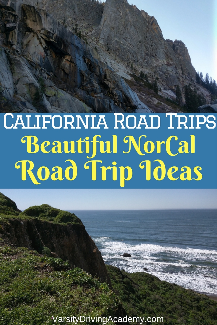 northern california road trip ideas: beautiful norcal road trips - vda