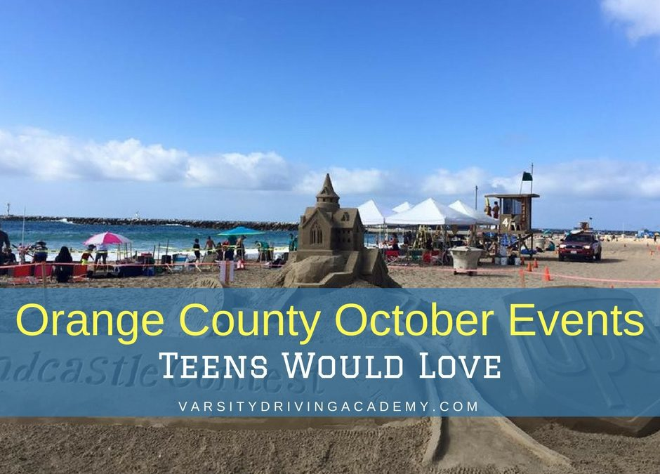 Allow your teen to attend one of the many October events in Orange County this year and trust that they'll be surrounded by people who care.