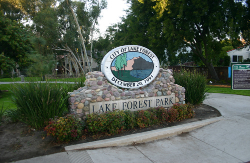 Orange County Cities Lake Forest