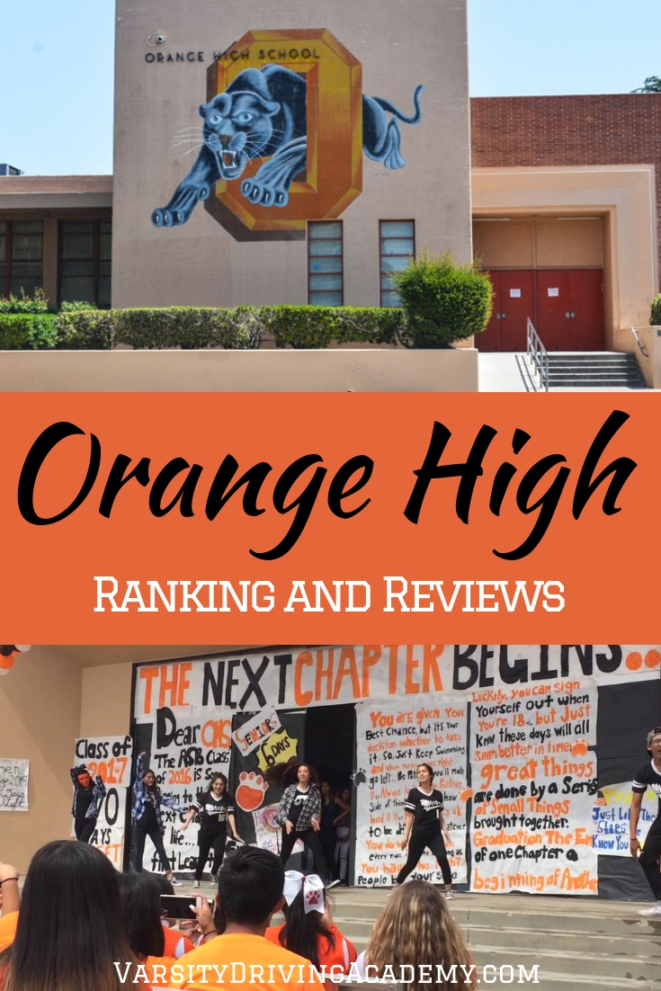 The Orange High School ranking puts the results of Orange High up against the results of other high schools in California.
