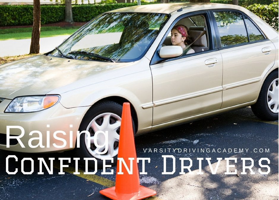 Raising confident drivers means we need to be confident drivers ourselves but also, it's ok to have a little help and it definitely can't hurt.