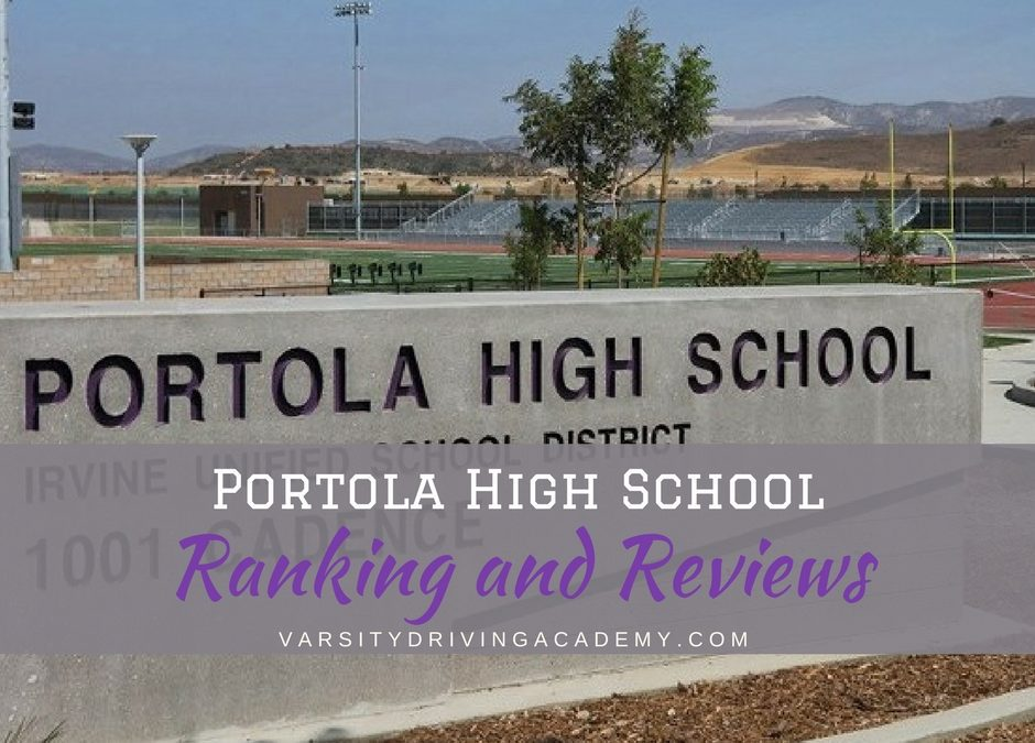 Irvine is known for its safety and family oriented community and now, the Portola High School is one school that helps teach the community.