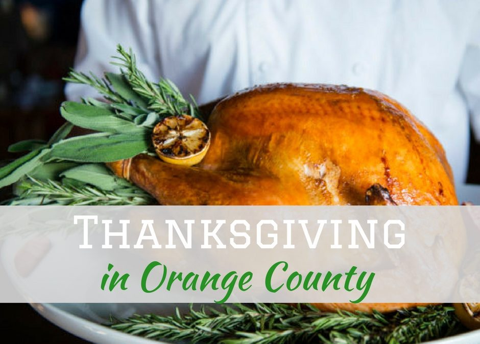 10 Restaurants to Enjoy Thanksgiving Dinner in Orange County