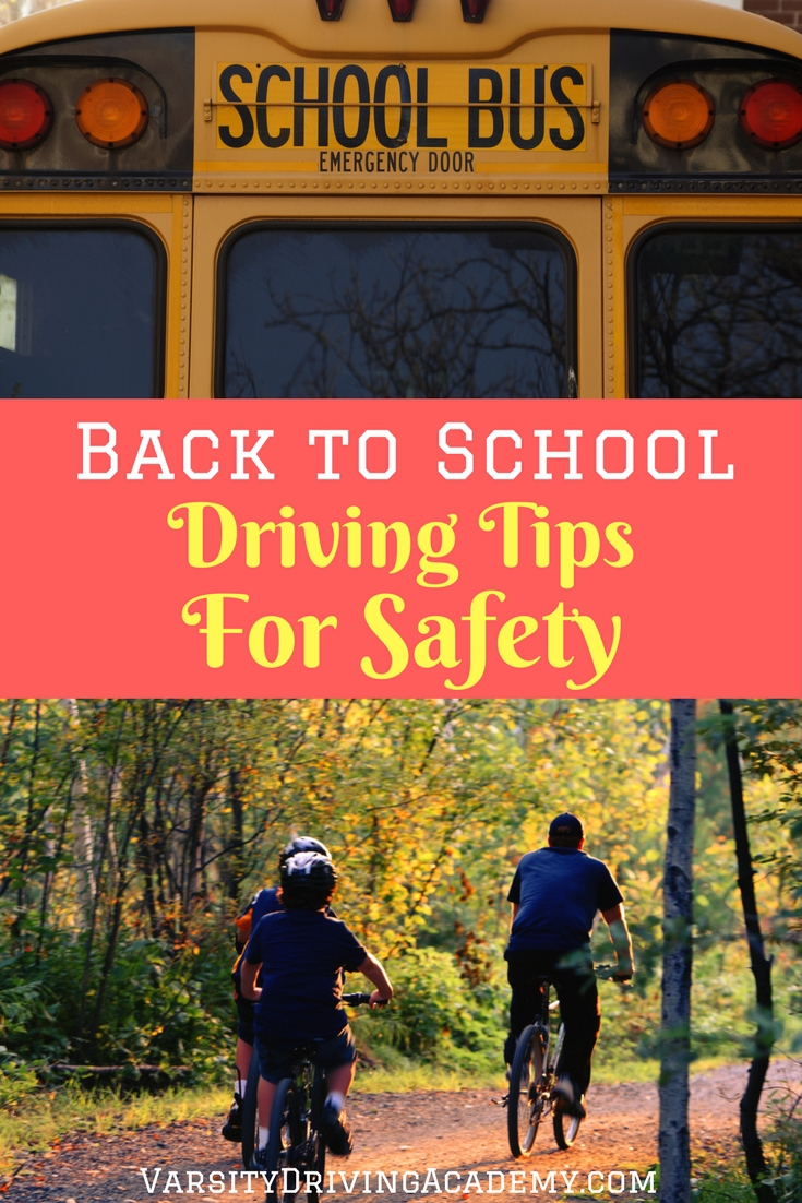 Driving to school safely starts with planning the drive to and from school and everyone should be aware of what may happen on the roadways.