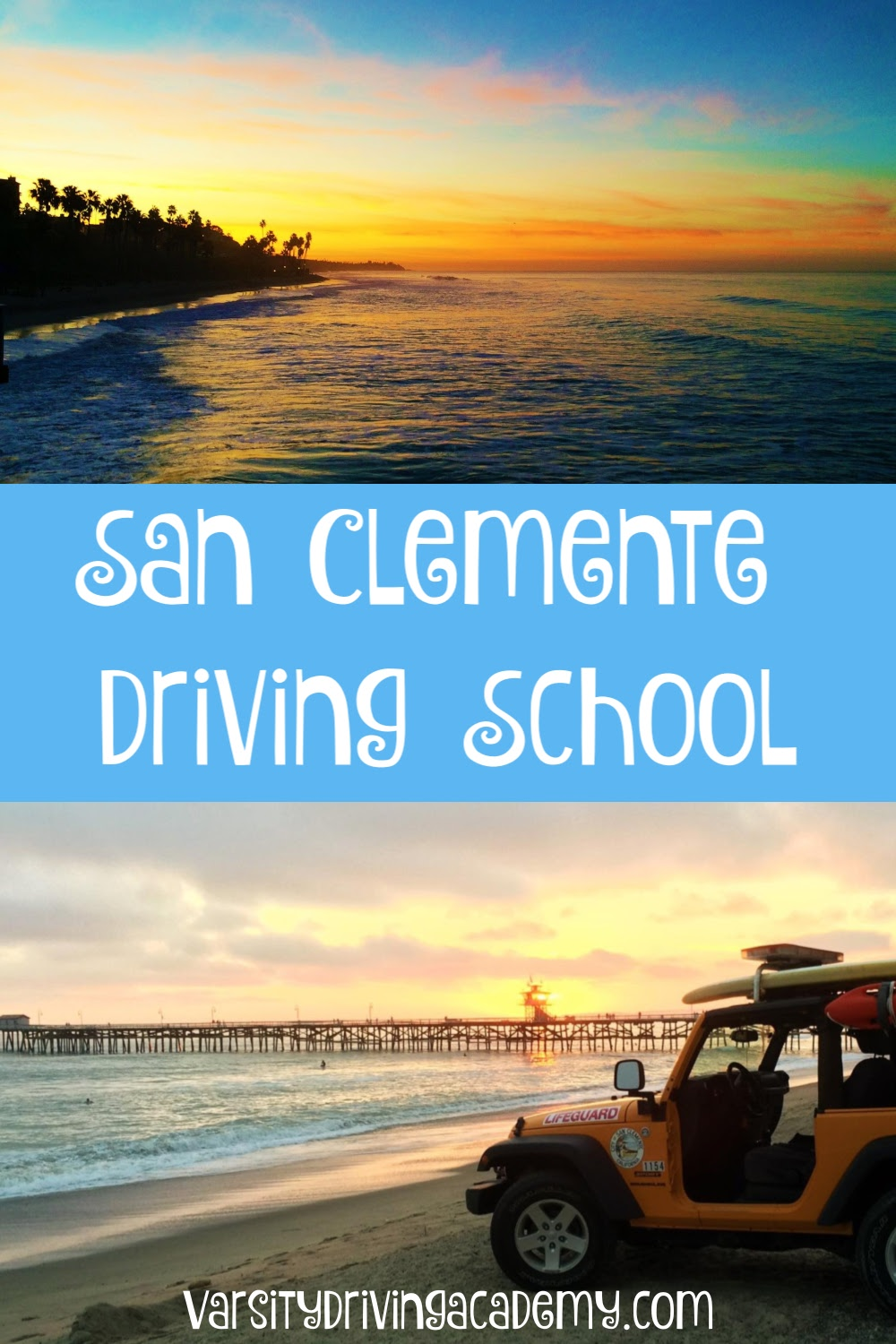 San Clemente residents can sign up for the best San Clemente driving school, Varsity Driving Academy and get the best drivers ed in San Clemente from certified driving trainers.