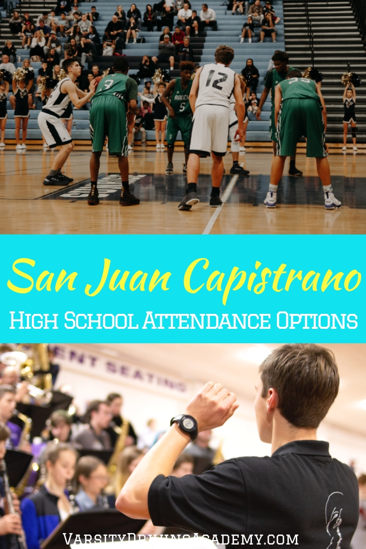 You can easily find out which high school your address allows you to attend with the San Juan Capistrano High School attendance options.