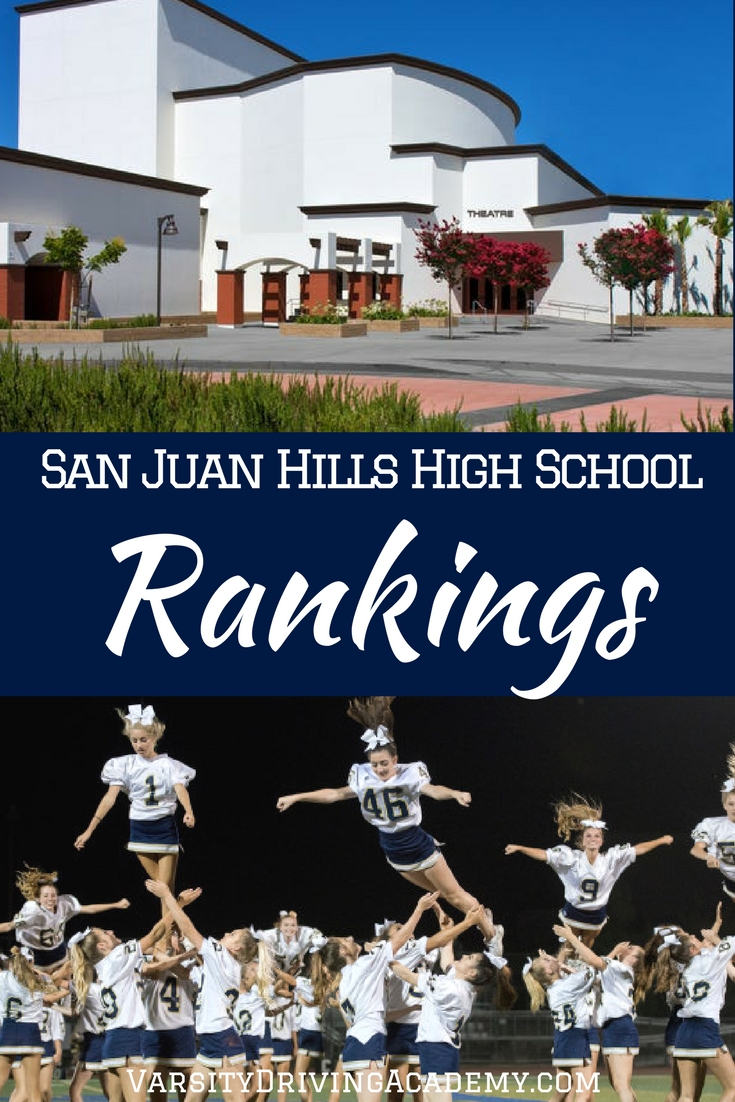 The San Juan Hills High School rankings show that this high school, compared to other California high schools, is among the best.