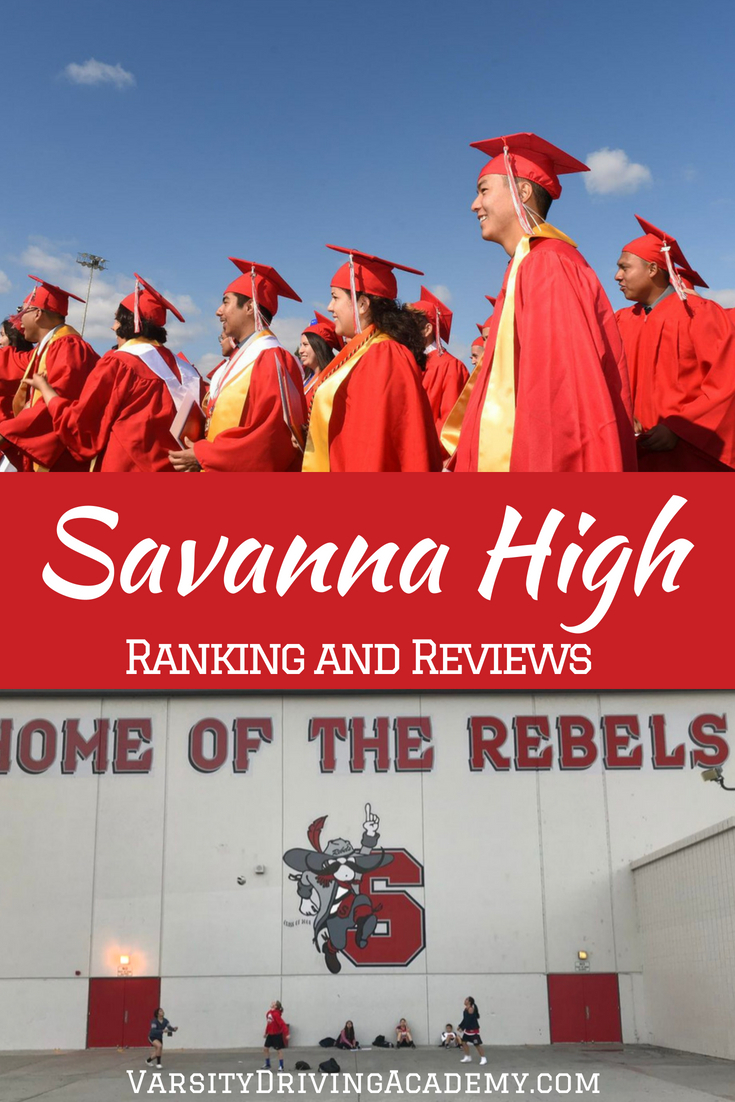 When we take a look at a few different aspects of the school we can determine the Savanna High School ranking and how it compares to other schools.