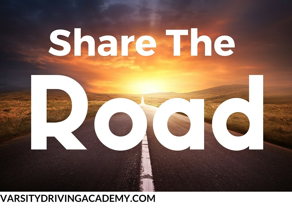 Share The Road With Bicycles and Motorcycles