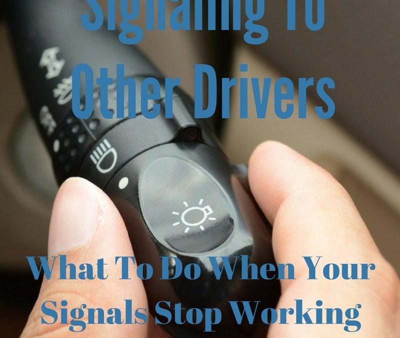 Signaling To Other Drivers Old School
