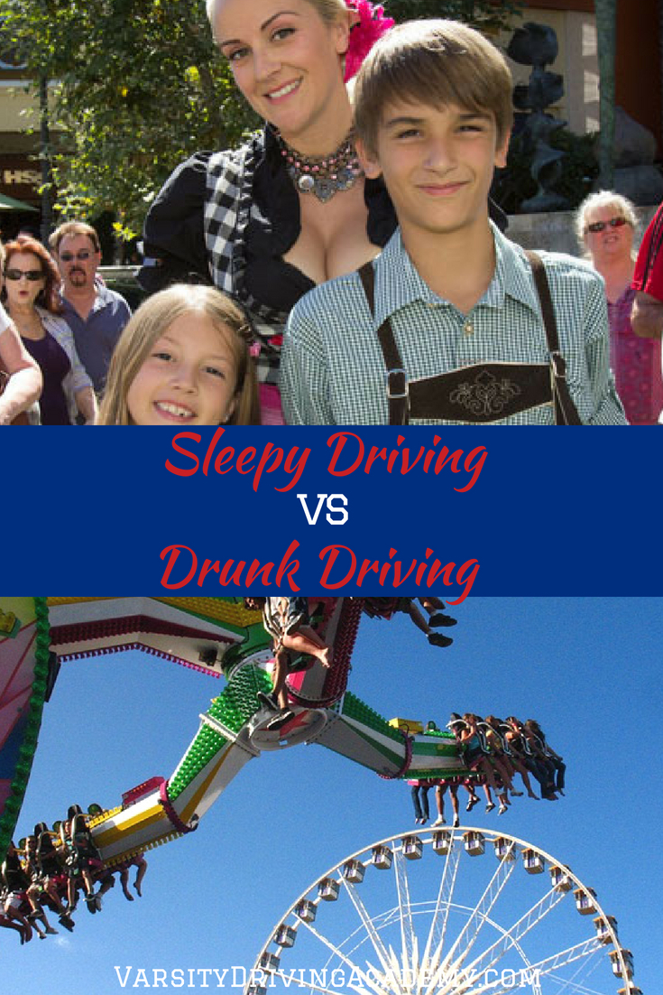 Know the differences between sleepy driving vs drunk driving and stay even safer while driving under these circumstances.