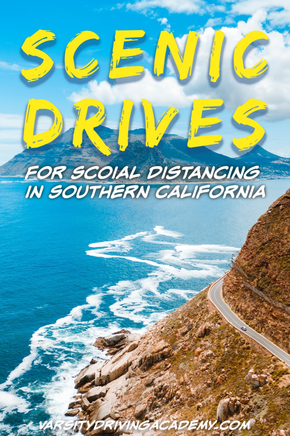 You could easily stay in your car and keep your social distance no matter which one of the best Southern California scenic drives you take.