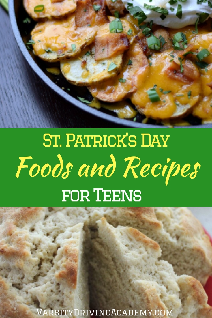 St. Patrick's Day foods for teens help celebrate the day with special treats that add life and flavor to the celebrations.
