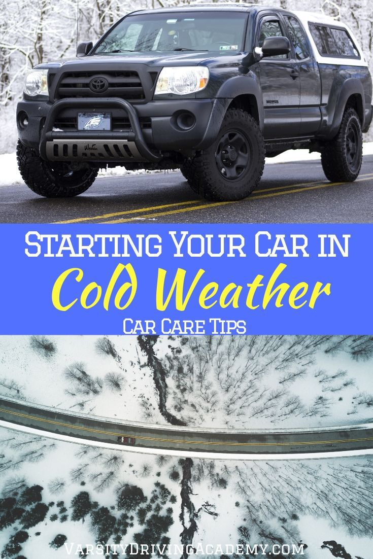 There is not as much to know about starting your car in cold weather as there once was. But there is nothing wrong with going above and beyond.