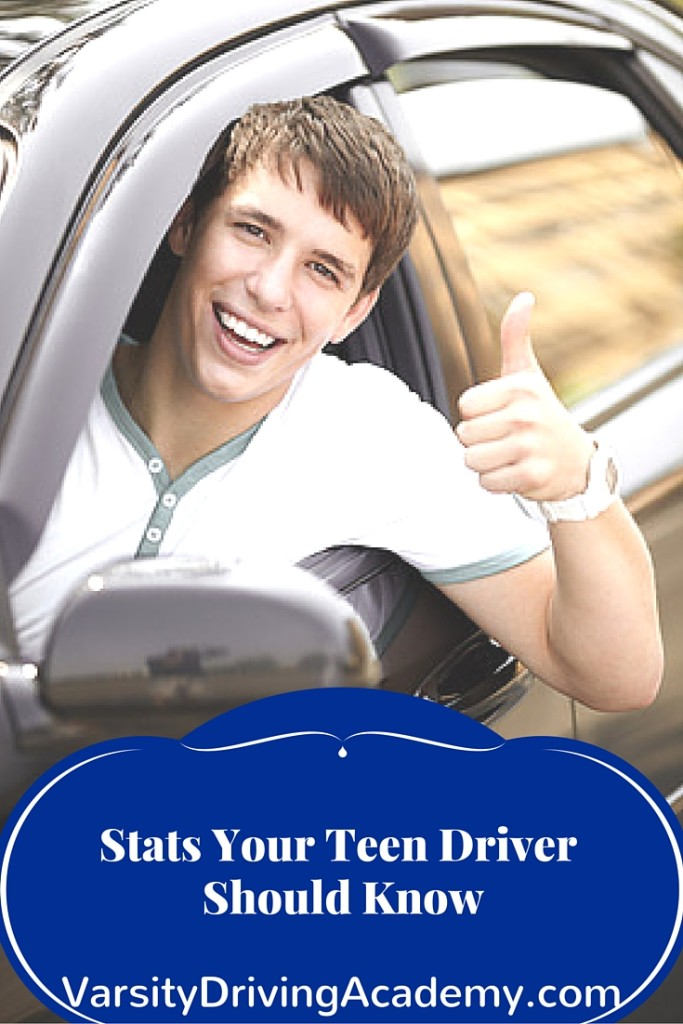 Stats Your Teenage Driver Should Know