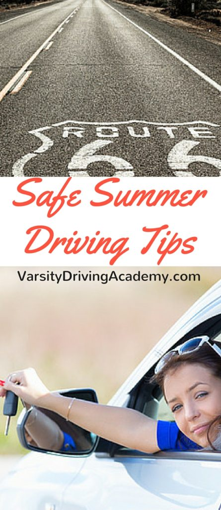 Everyone needs to utilize driving tips for summer, especially with all of the travel we're about to do. Are you ready?