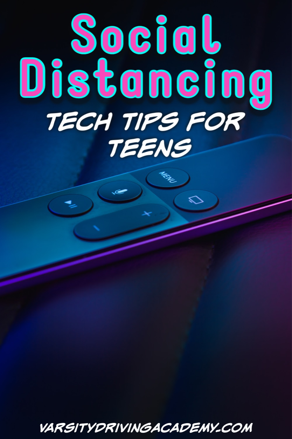 There are some very important tech tips for teens to help with social distancing and keeping a social life as much as possible.
