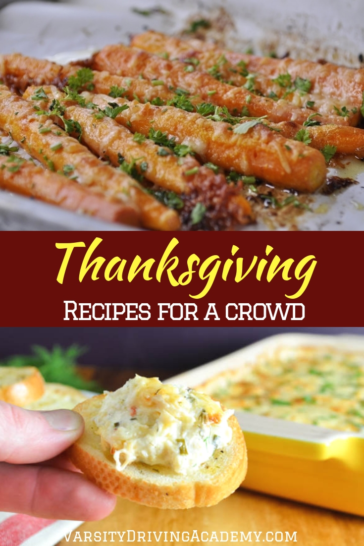 Using some new Thanksgiving recipes for a crowd can help you breathe new life into the biggest dinner of the year in the US.