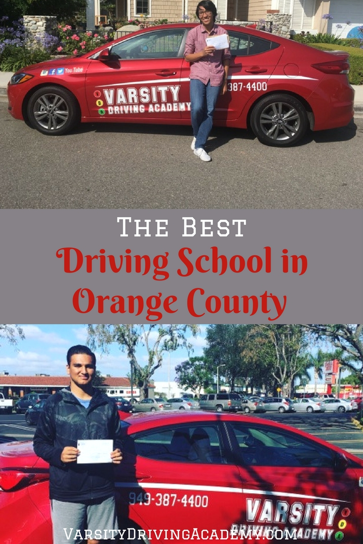 There are many factors that go into being the best driving school in Orange County and Varsity Driving Academy has them all.