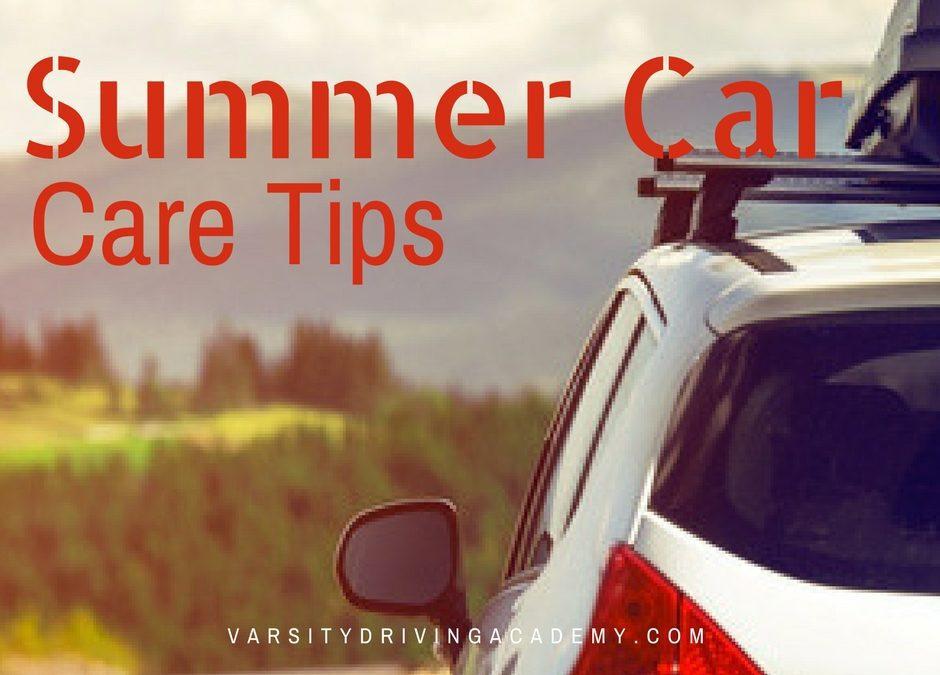 Summer Car Care Tips