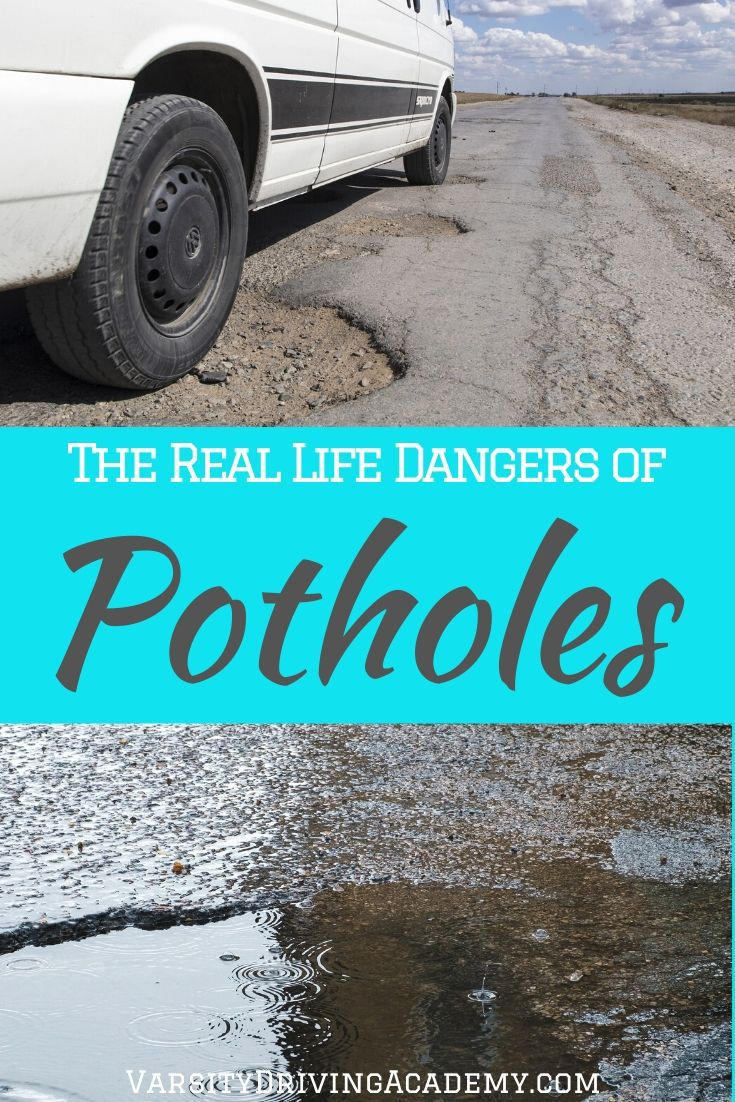 Your car faces some serious injury when it comes across one of the most sneaky dangers on the road, the dangers of potholes.