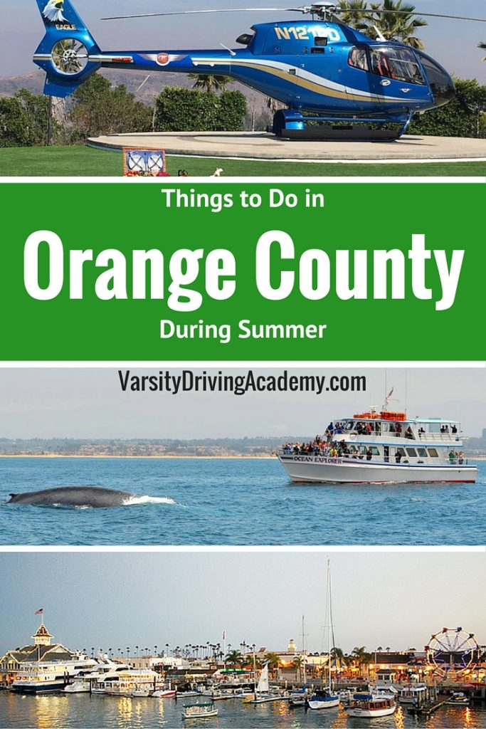 There are many things to do in Orange County that make it a travel destination for millions. Living in Orange County gives you even more access.