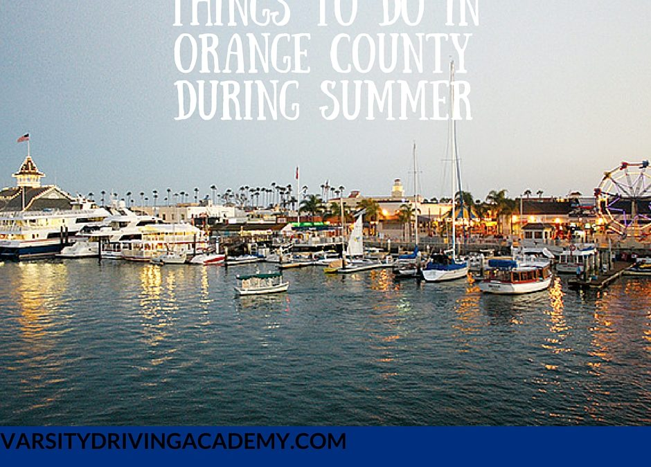 Things to Do in Orange County During Summer Featured