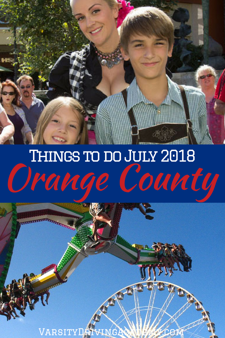 Finding the best things to do in July 2018 in Orange County is easier than you think, the hard part is finding time to do everything.