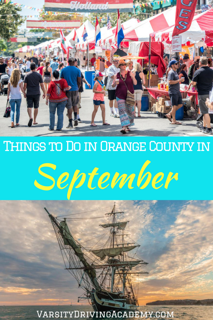 Don't skip to holiday season just yet, there are still plenty of things to do in Orange County in September 2018 that are as fun as the coming holidays.