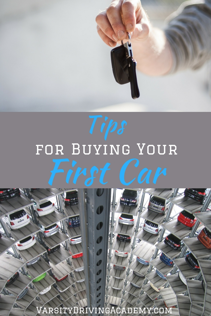 Tips for buying your first car will help you find the right car, at the right price, and start your future on the right wheel.
