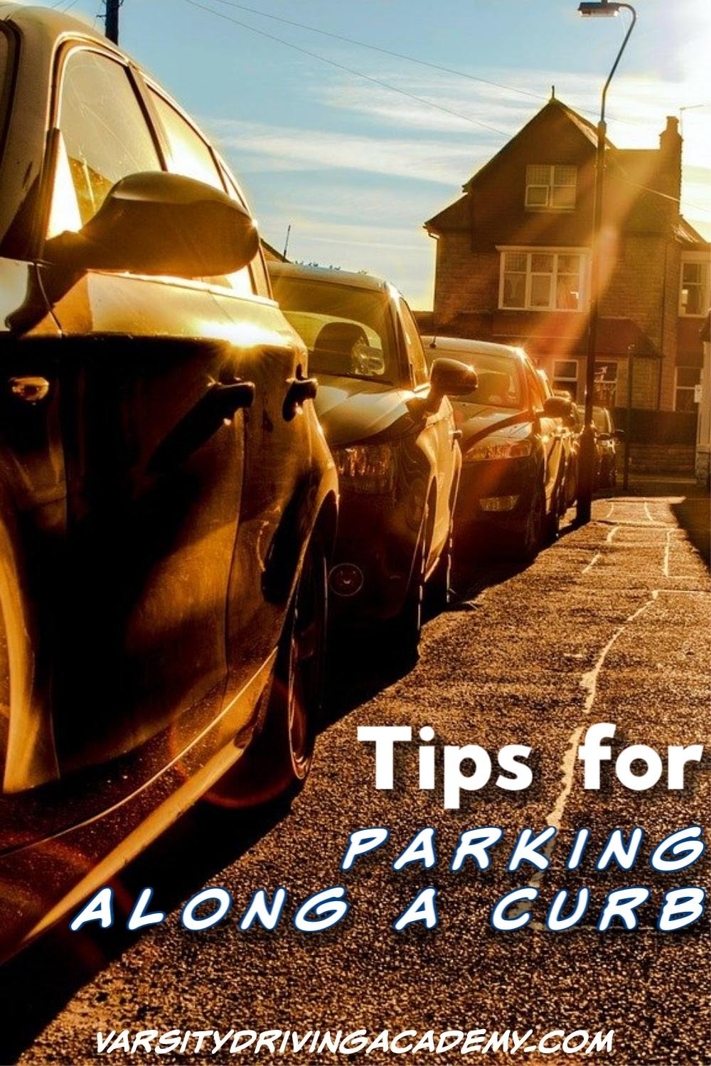 The best tips for parking along a curb can help ensure your success and help you pass your driver's test at your local DMV.