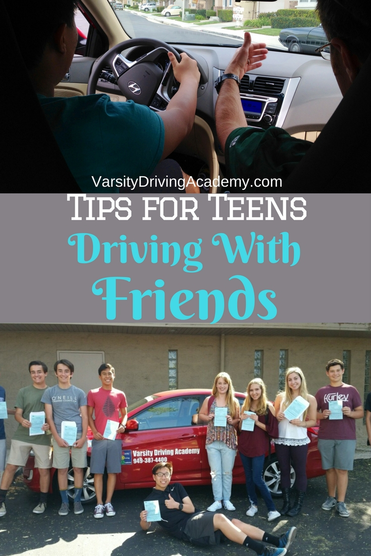 Tips for teens driving with friends can help parents keep their individual teen safe and personalize the law for their teens.