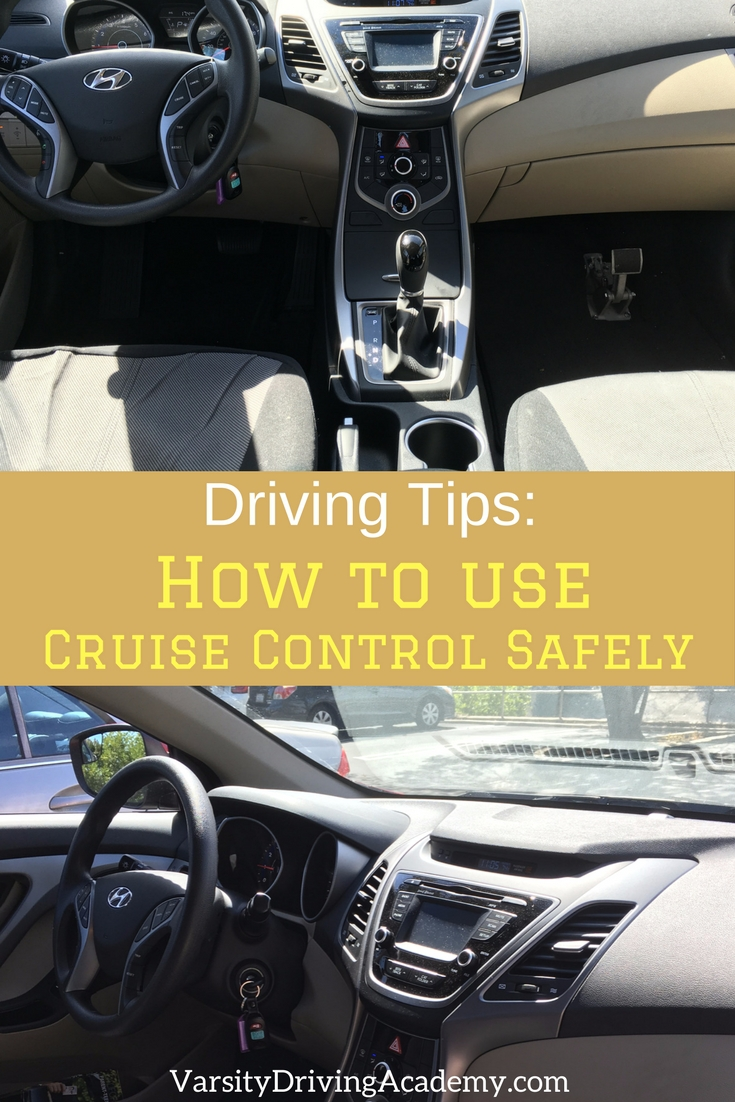 The best tips for using cruise control can help you rest your legs and stay safe while driving long distances using technology.