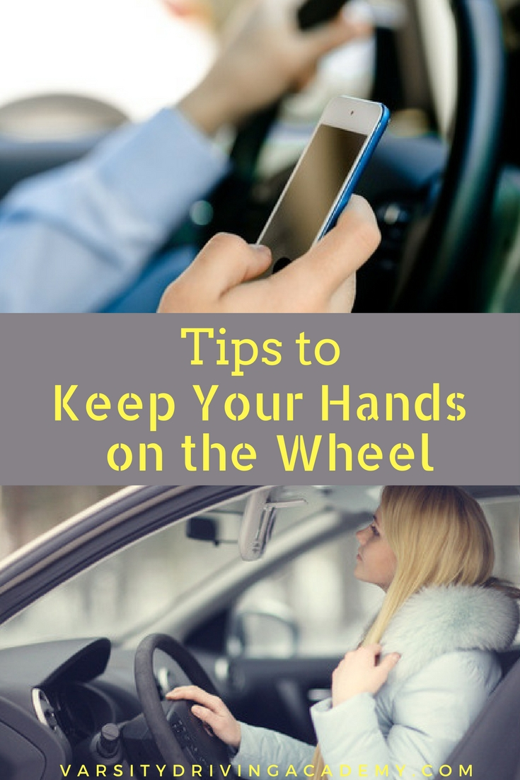 Keep teen drivers and others safe on the road by making sure you keep your hands on the wheel during and after Distracted Driving Awareness Month.