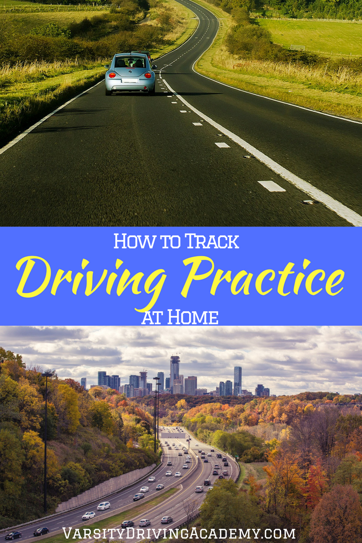 Finding out how to track driving practice at home is a great way for parents to build confidence in their teens as well as make sure everything is covered.