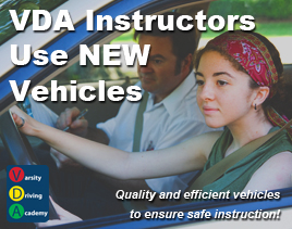 VDA Instructors Use NEW Vehicles