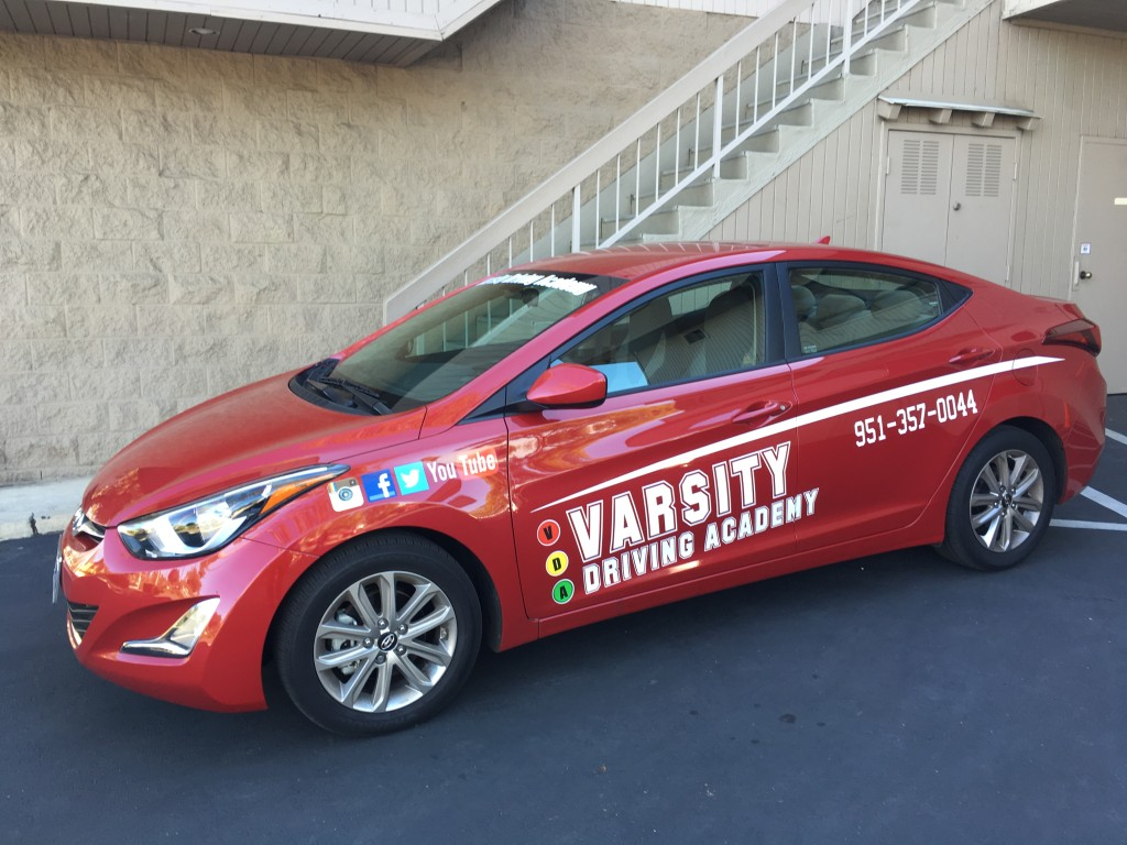 Varsity Driving Academy Temecula Driving School Car