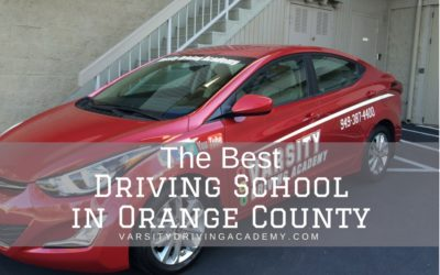 Varsity Driving Academy | Best Driving School in Orange County