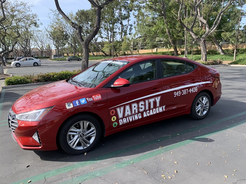 Varsity Driving Academy Vehicle 2019