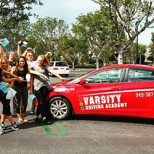 Varsity Driving Academy Vehicle