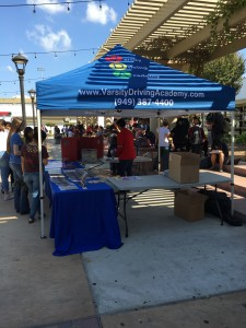 Vda Driving School Event Tustin high Booth