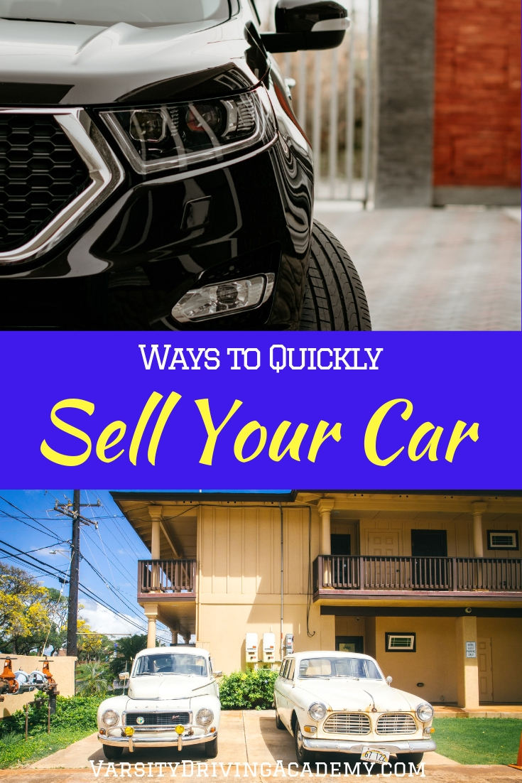 There are ways to sell your car quickly that will help you not only get rid of your old car but help you get into a new one.