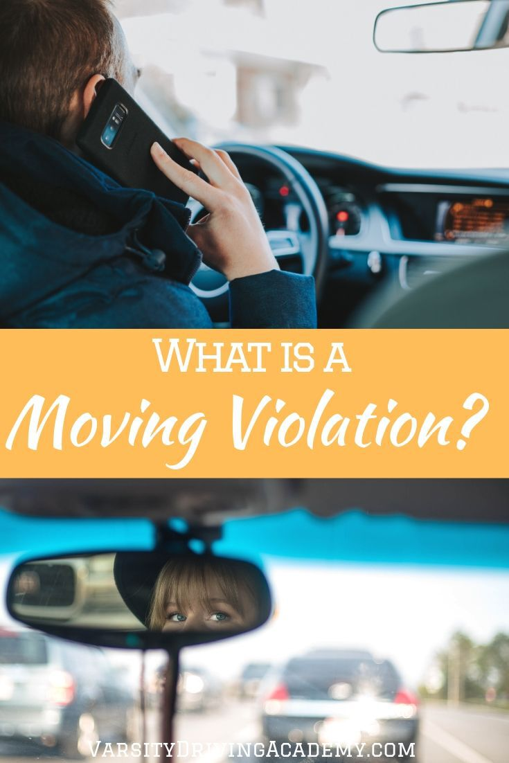 Discover what is a moving violation so you can be sure that you don't get a ticket for one the next time you get behind the wheel.