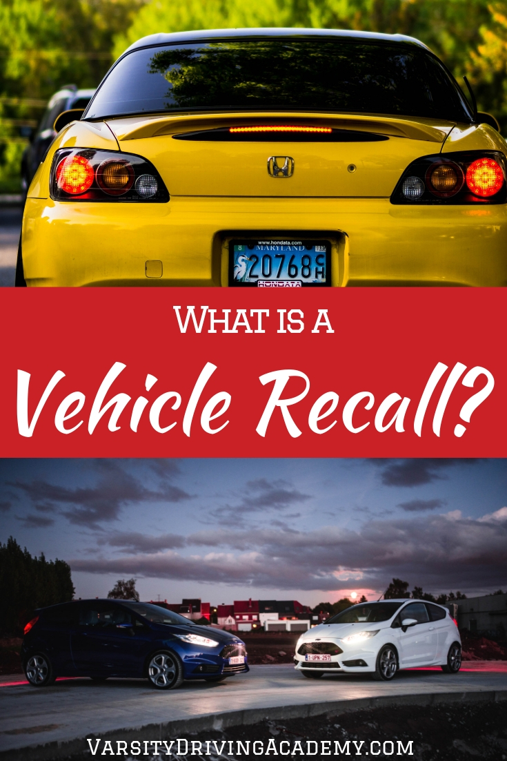 What is a vehicle recall? It could be the difference between life and death depending on the recall and everyone should know what to do.