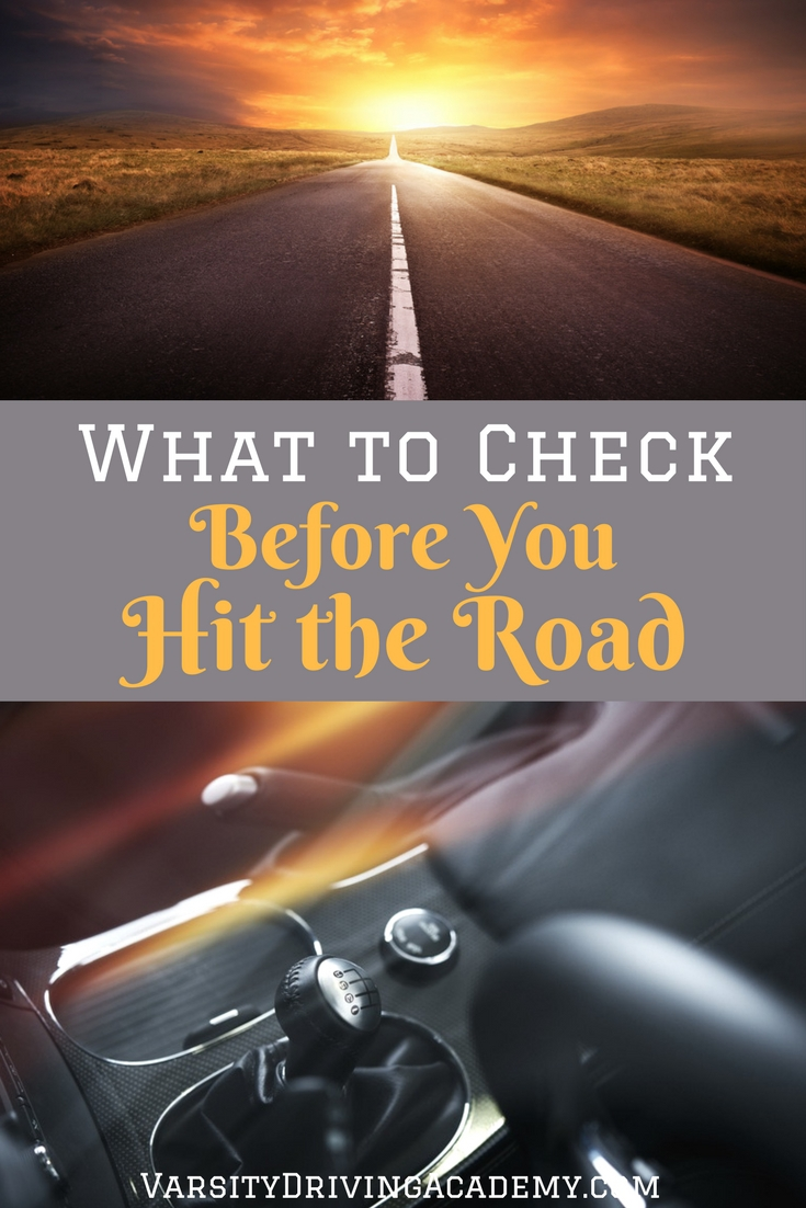 Make sure your car is safely prepared for the open road before you drive and you will be thankful for your new routines if you run into issues.